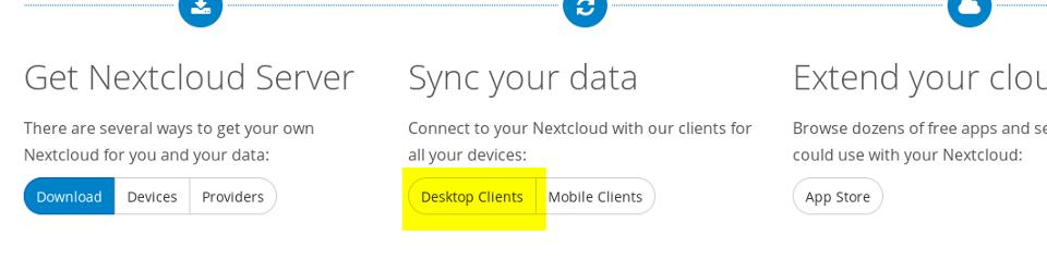 Descargar Nextcloud